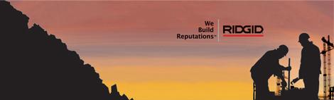 Инструмент и оборудование для трубной индустрии Ridgid: трубные ключи, тиски тубные и слесарные, врезка в трубопровод, труборезы ручные и электрические, трубогибы, пилы, резьбонарезной ручной инструмент (клуппы ручные и электрические, метчики и плашки ), резьбонарезные станки, оборудование выполняющее поиск скрытых трубопроводов и кабеля, прочистные машины и инструмент Ridgid Kollmann при помощи которого можно произвести устранение засоров и прочистку трубопроводов. Подбор, консультация и замена иструмента REMS, REED, ROTHENBERGER, VIRAX, EGAMaster на профессиональный инструмент и оборудование RIDGID