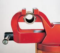 ridgid peddinghaus тиски слесарные трубные сменные губки наковальни